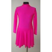 Rožinė šokių suknelė