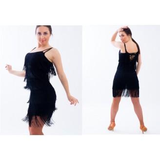 Šokių suknelė su kutais