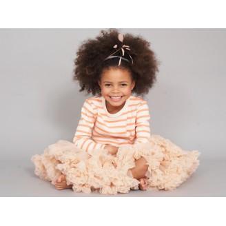 Bob&Blossom abrikoso spalvos sijonas