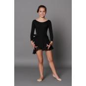 Juodas baleto sijonas