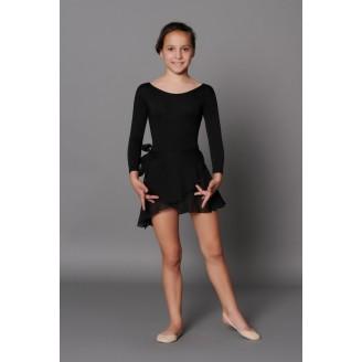 Baleto juodas sijonas