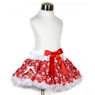 Raudonas sijonas Kalėdoms