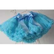 Turkio spalvos sijonas, 2-3 metai