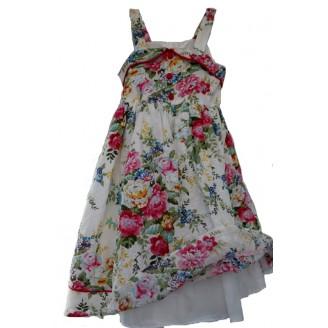 Proginė gėlėta suknelė