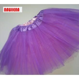 Violetinis/šviesiai rožinis sijonas TUTU 6-jų sluoksnių