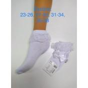 """Kojinės su nėriniais """"Balerina"""""""