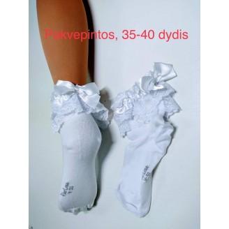 Kojinės su nėriniais