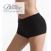 Juodi šortai šokiams Silky Dance